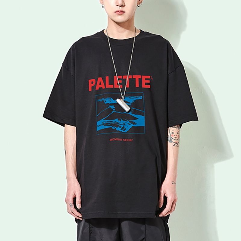 MIDNIGHT SEOUL TEE (BLACK)