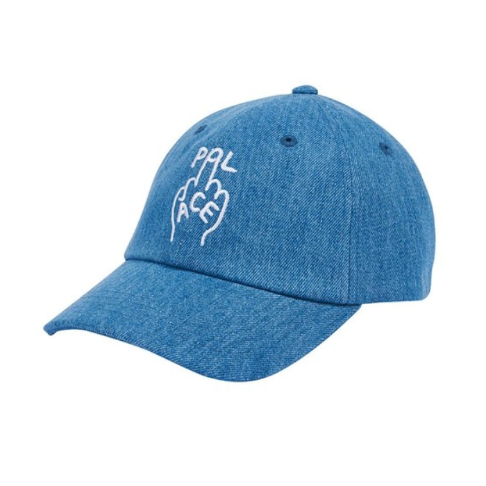 FINGER UP 6-PANEL BLUE