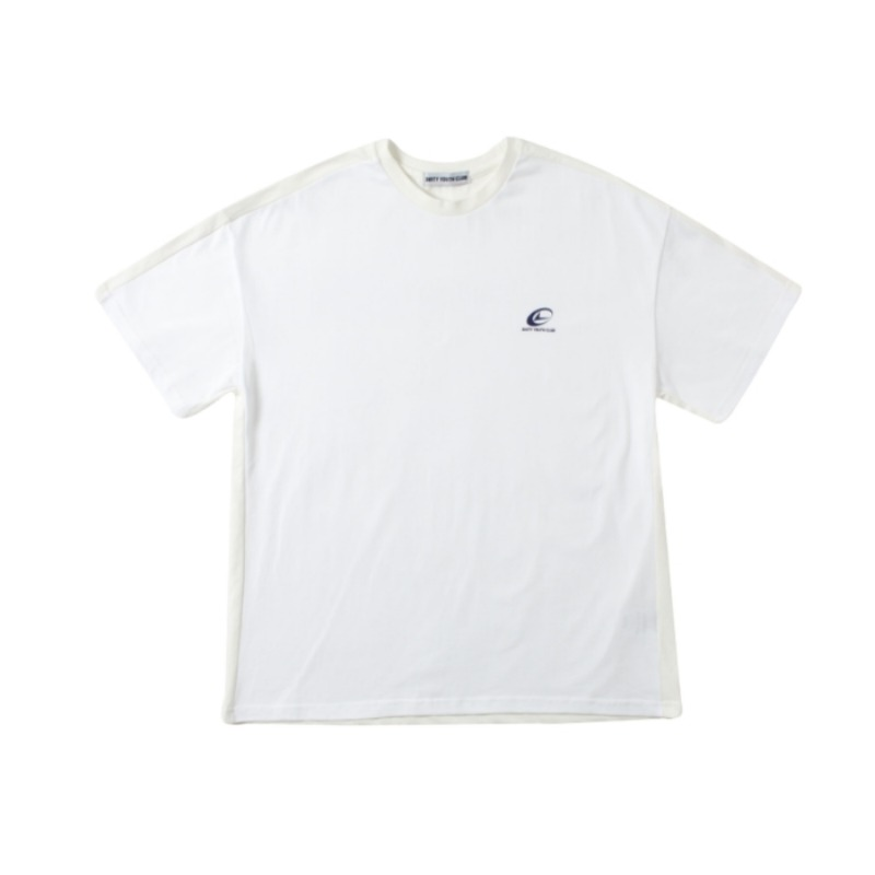DOUBLE COLOR T-SHIRT WHITE