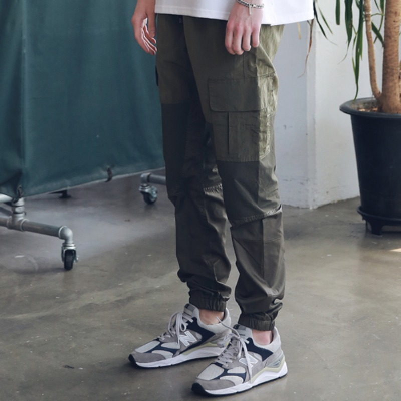 3RD SECTION JOGGER PANTS MSNCP003-KK