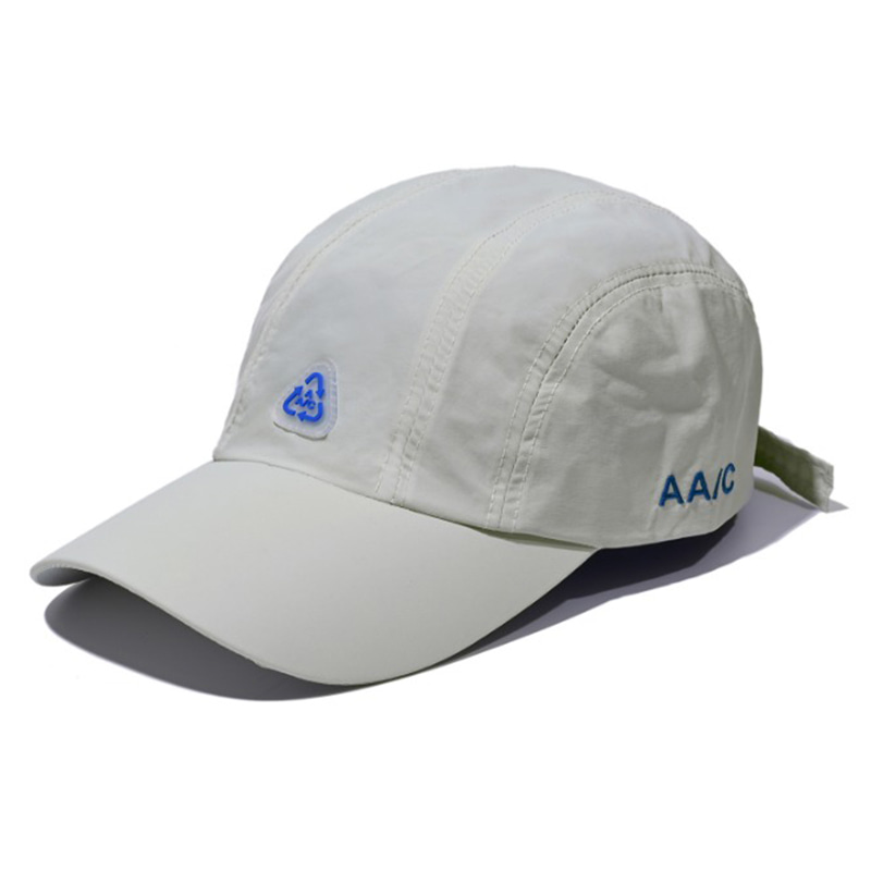 AA/C NYLON 5-PANEL CAP EMERALD GREY