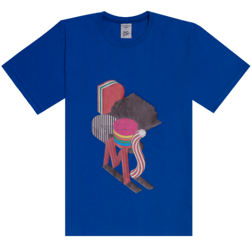 ADLV X Steven Willson DREAMS SHORT SLEEVE BLUE