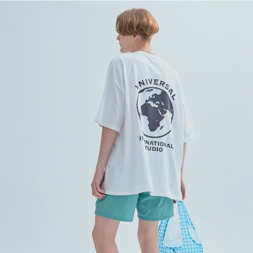RAINBOW SCOTCH TEE WHITE