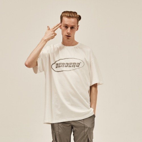 WHITE LOGO REFLECTIVE T-SHIRTS