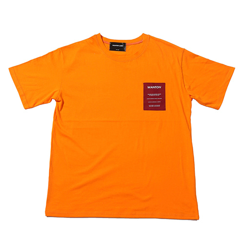 OLD TV TSHIRTS ORANGE