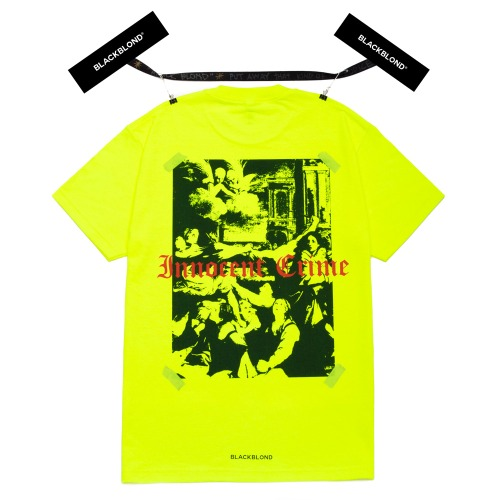 BBD INNOCENT SHADOW SHORT SLEEVE TEE NEON