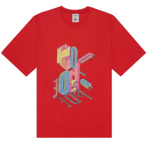 ADLV X Steven Willson UPSIDE DOWN SHORT SLEEVE RED