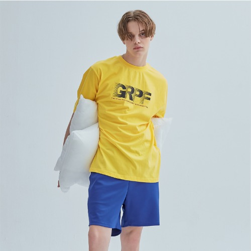 SCOTCH LOGO TEE YELLOW
