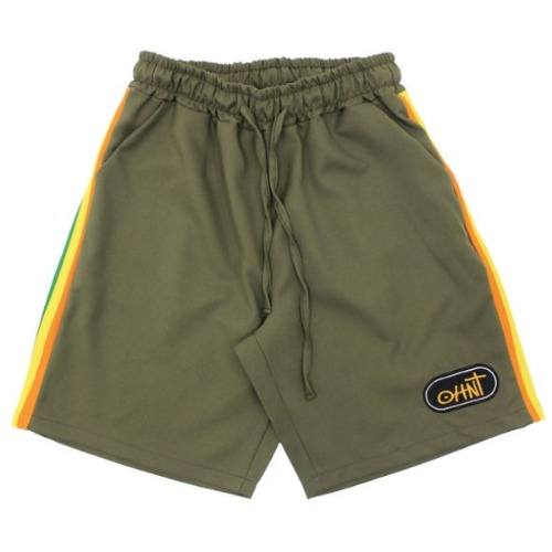 19 SUMMER SEASON TRIP SHORT PANTS - OLIVE