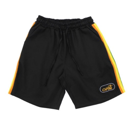 19 SUMMER SEASON TRIP SHORT PANTS - BLACK