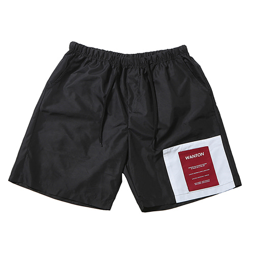 TWO TONE SHORTS BLACK