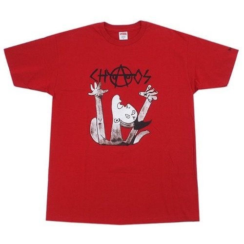 CHAOS TEE RED