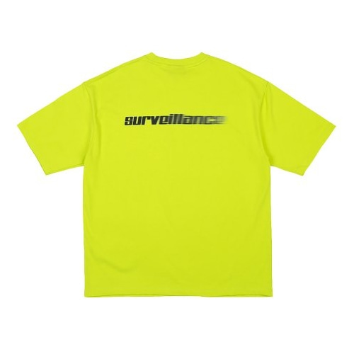 SURVEILLANCE T-SHIRTS LIME