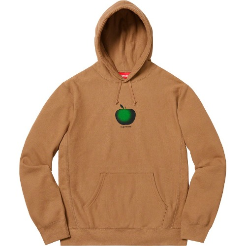19SS APPLE HOODED SWEATSHIRT