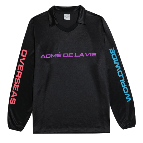 ADLV WORLD WIDE LONG SLEEVE BLACK