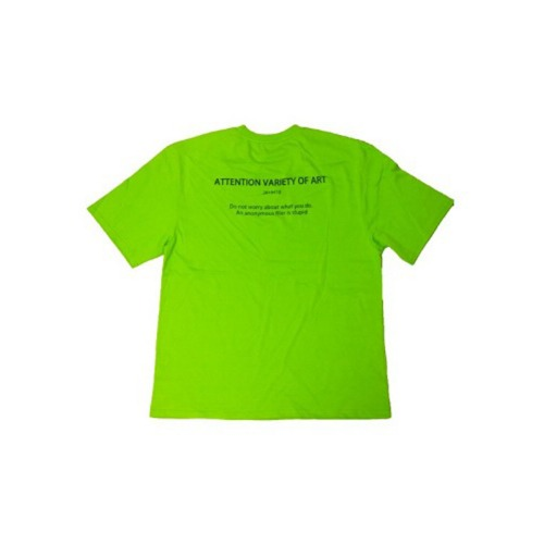 BASIC 114 HALF T-SHIRT LIME