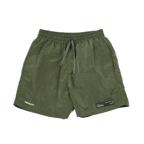 METALLIC SURF SHORT OLIVE