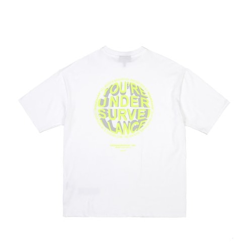 CIRCLE LOGO T-SHIRTS WHITE