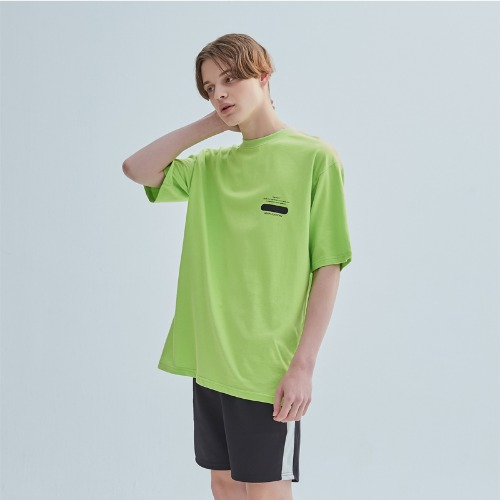 SIGNATURE LOGO TEE LIME