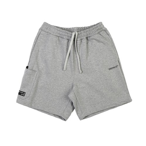 SIDE POCKET SWEAT SHORT GREY
