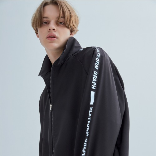 GRPF LINE WINDBREAK BLACK