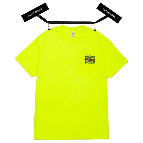 BBD GRAFFITI LOGO SHORT SLEEVE TEE NEON
