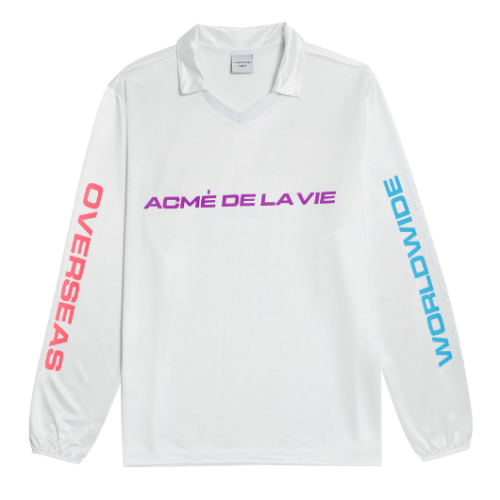 ADLV WORLD WIDE LONG SLEEVE WHITE