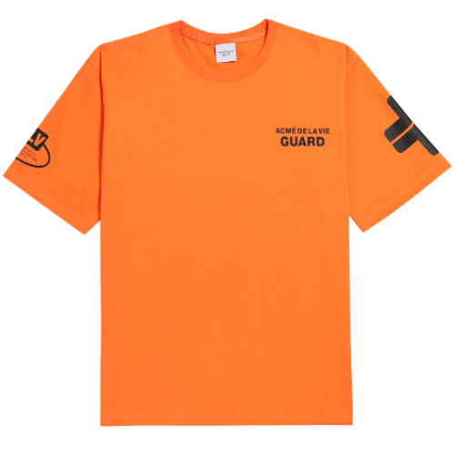 ADLV GUARD SHORT SLEEVE ORANGE