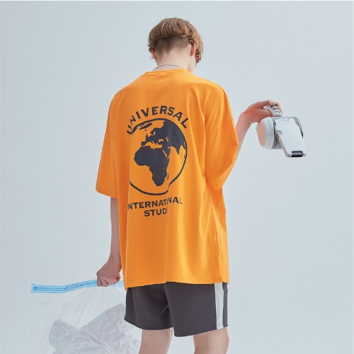 RAINBOW SCOTCH TEE ORANGE