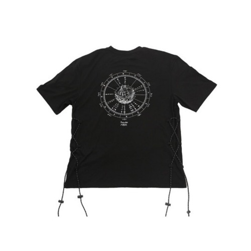 CONSTELLATION DETAIL HALF T-SHIRT