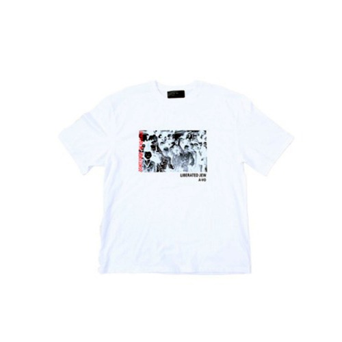HOLOCAUST HALF T-SHIRT(WHITE)