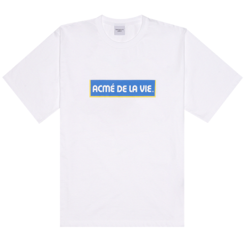 ADLV BOX LOGO SHORT SLEEVE WHITE