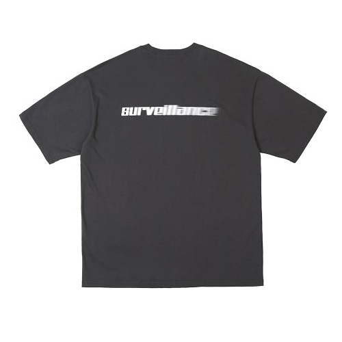 SURVEILLANCE T-SHIRTS CHARCOAL
