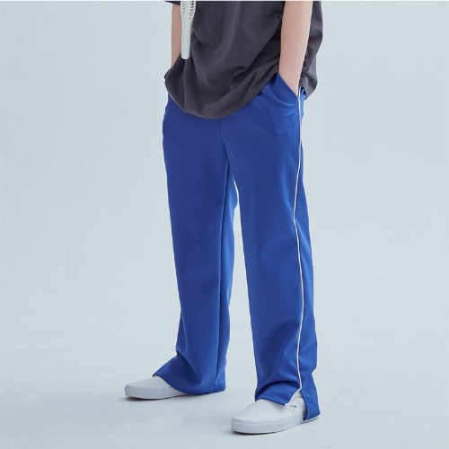 LINE TRAINIG PANTS BLUE