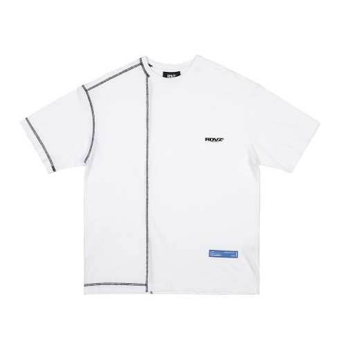 COVERSTITCH T-SHIRTS WHITE