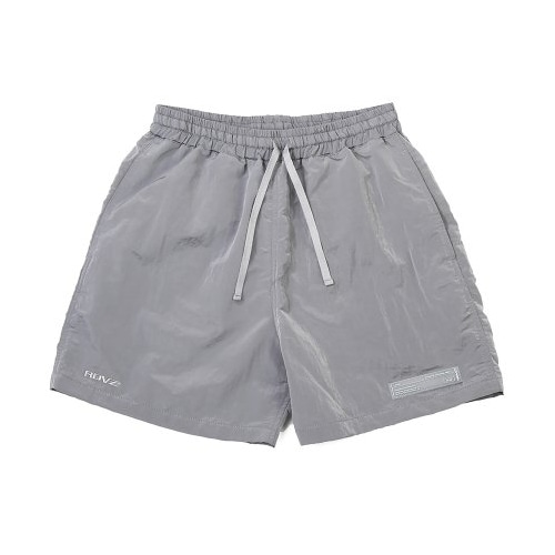 METALLIC SURF SHORT LIGHT GREY