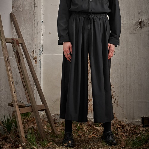 008 DRAPE WIDE PANTS