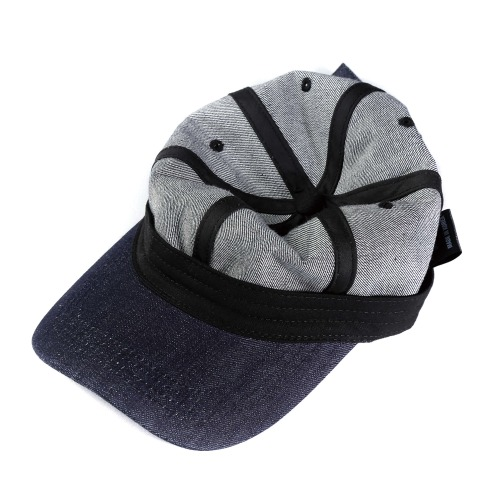INSIDE OUT DENIM CAP