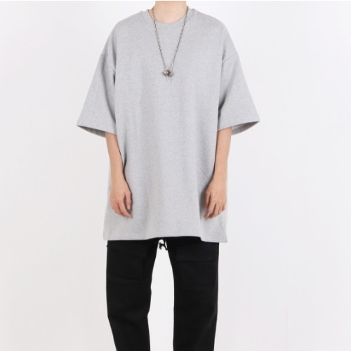 SUPER OVERFIT JUMBO T-SHIRT GREY