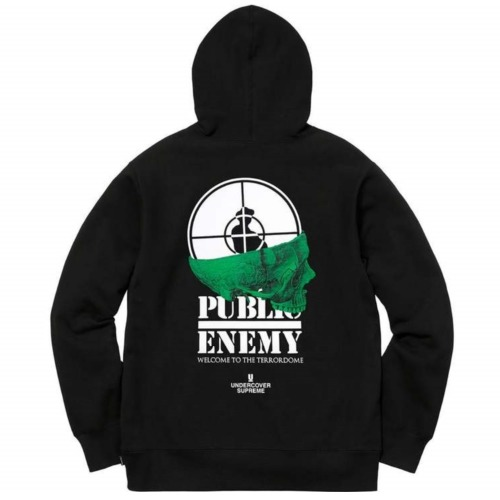 18SS UNDERCOVER/PUBLIC ENEMY TERROR DOME  HOODIE