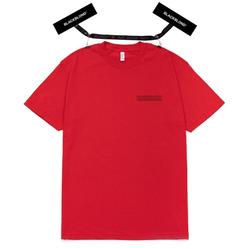 BBD ORIGINAL BORDER LOGO SHORT SLEEVE RED
