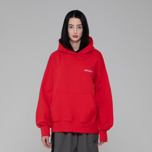 DNG UNIVERSE HOODIES RED