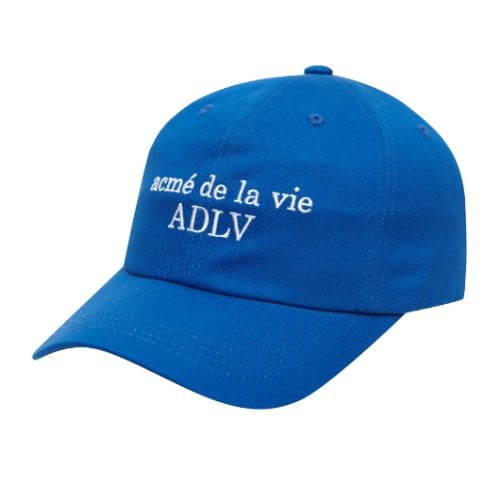 ADLV BASIC BALL CAP BLUE