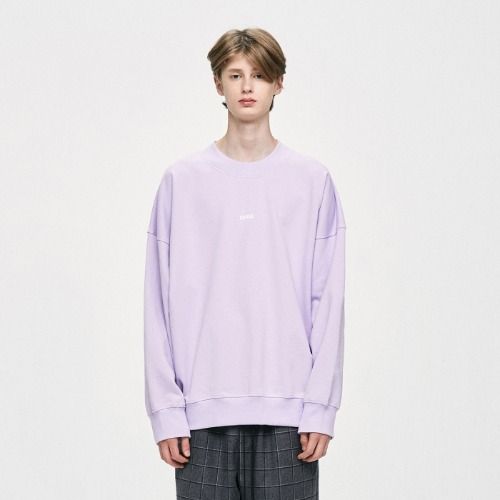 LOGO SWEATSHIRT - PURPLE