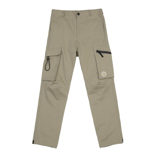 MULTI POCKET CARGO PANTS LIGHTKHAKI