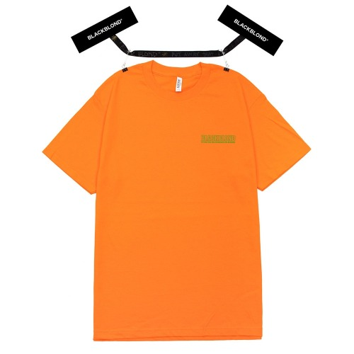 BBD ORIGINAL BORDER LOGO SHORT SLEEVE ORANGE