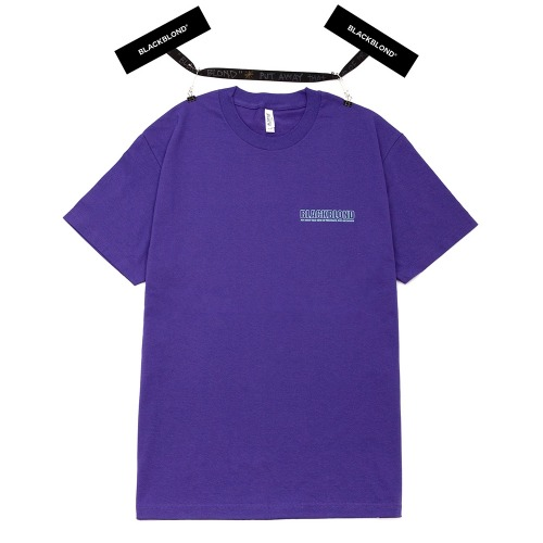 BBD ORIGINAL BORDER LOGO SHORT SLEEVE PURPLE