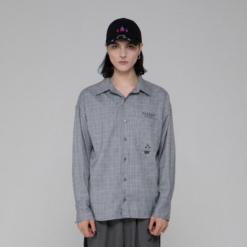 GLEN CHECK OVER SHIRT