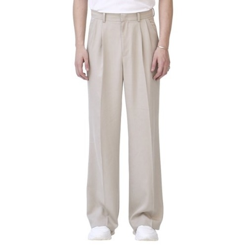 UNISEX IVOTRY WIDE LEG TROUSERS