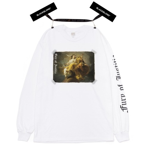 BBD JUSTITIA LONG SLEEVE TEE WHITE